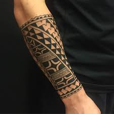40 polynesian forearm designs for masculine tribal