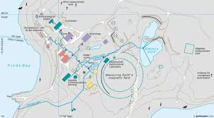 map of antarctic stations maps davis australian antarctic station diercke