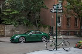 irish green porsche mark webber on drivetribe perfectly at home in leafy upper