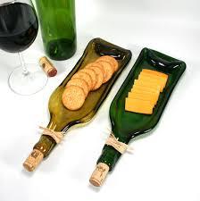 wine bottle cheese trays green wine bottle serving tray or spoon by shifflettstudios