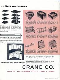 Top Of The Line Kitchen Cabinets by 1953 Crane Kitchen Cabinets 26 Photos Complete Catalog Retro