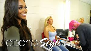 take a rare look inside wwe makeup eden u0027s style youtube