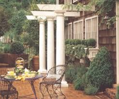 Decorative Concrete Pillars Hb U0026g Permacast Fiberglass Porch Columns Round U0026 Square