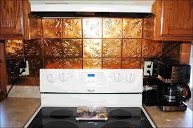 kitchen tin backsplash copper tiles for kitchen backsplash faux