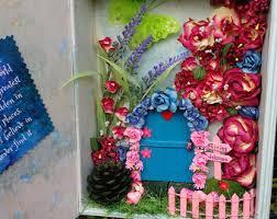fairy door fairy frame fairy garden wall art secret garden