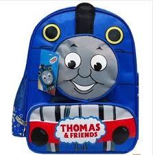 thomas train backpack free shipping menino boy mochilas child