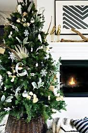 modern boho deco christmas tree the design confidential