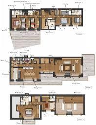 shl lodge in meribel by skiboutique bedrooms