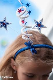 4th of july headband firework headbands 4th of july craft crafts