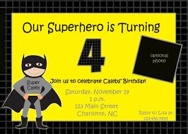 Superhero Invitation Card Batman Birthday Invitations Templates Ideas Batman Birthday