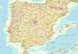 Mallorca Spain Map by Portugal Spain Map Imsa Kolese