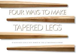 how to taper 4x4 table legs making table legs gallery table decoration ideas