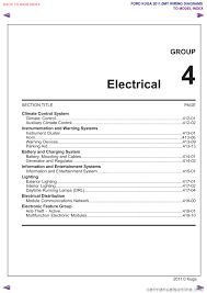 charging ford kuga 2011 1 g wiring diagram workshop manual