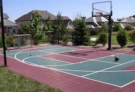 Building A Backyard Basketball Court Basketball U2013 Backyard Games Landscaping Network