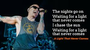 waiting for the light 10 linkin park lyrics that say much more than what you think