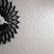 grey contemporary wallpaper room design ideas