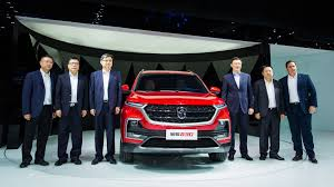 baojun logo saic gm wuling unveils its third suv the baojun 530