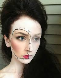 Creepy Doll Costume 65 Halloween Makeup Ideas To Try This Year Brit Co