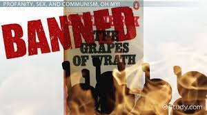 grapes of wrath themes and symbols why was the grapes of wrath banned censorship controversy