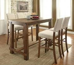 bar style dining table awesome pub style dining table brilliant best pub dining room sets