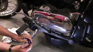 how to change motorcycle oil kawasaki vulcan youtube