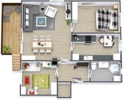 house plan simple bungalow 2 bedroom house plans