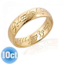 all wedding rings images Lord of the rings wedding band 10ct the one ring the one ring jpg