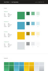 free web style guide psd template rafal tomal