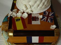 travelers wedding cake a cake for the wedding of 2 travelers