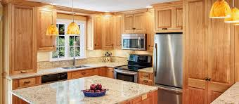 Red Birch Kitchen Cabinets Stauffer Woodworking
