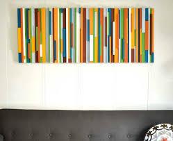 art to decorate your home decorations amazing colorful stripes home wall art ideas and