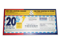 Bed Bath And Beyond 20 Percent Off Coupon Be On The Lookout For Bed Bath U0026 Beyond Coupons You Can Use Online