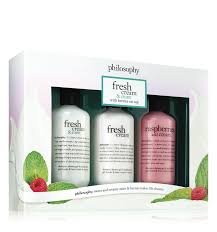 fresh cream shower gel set philosophy