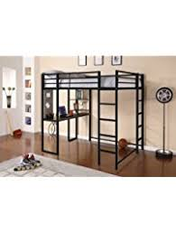 Loft Bed Without Desk Beds Amazon Com