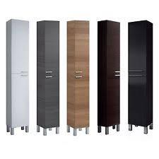 Tall Bathroom Storage Cabinets by Bathroom Storage Cabinet Ebay