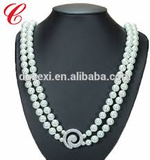 white pearl necklace designs images 2017 white pearl chain necklace designs bridal fashion jewelry new jpg