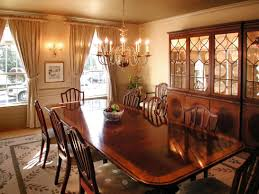 Cherry Wood Dining Room Chairs Cherry Dining Room Set With Hutch Formal Sets China Cabinet