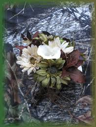 camo flowers fabulous fakes camo wedding flowers ribbon