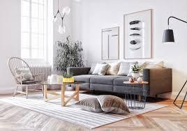 living room colorful pillows scandinavian sofa living room
