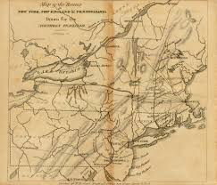 Map Of New England Coast by 1820 U0027s Pennsylvania Maps
