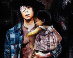 Carl Grimes Halloween Costume Walking Dead Carl Grimes Chandler Riggs Pillowcase