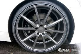 lexus ls 460 wheel size lexus ls 460 custom wheels vossen vfs1 22x et tire size r22 x et