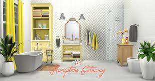 The Sims 2 Kitchen And Bath Interior Design Simsational Designs Updated Hamptons Getaway Bathroom Addon