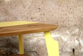 canapé bois flotté bout de canape bois table dappoint bout de canapac vintage bois