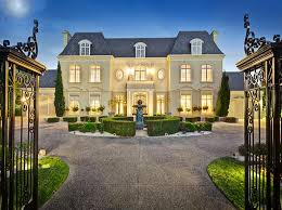 chateau style homes chateau style gated mansion australia homes