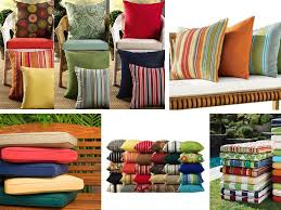 patio cushions and pillows trendy furnitures reference and red cushionedbenches red patio