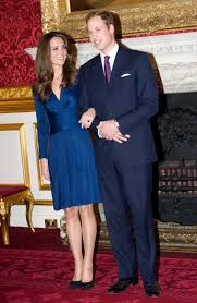 you can now get kate middleton u0027s blue engagement dress for less