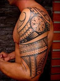 man maori tattoo shoulder arm ideas tattoo designs