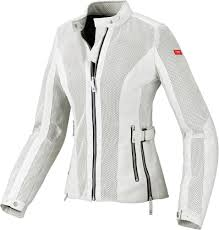 motorbike coats spidi sport womens summer net mesh armored textile jacket white