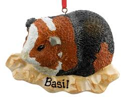 guinea pig personalized ornament